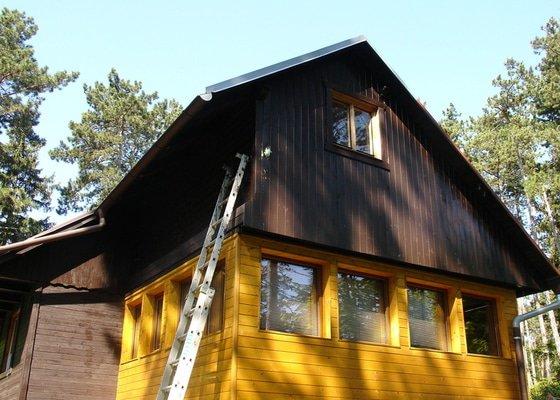 Zateplení a obklad chaty