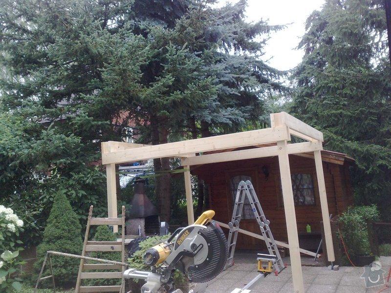 Stavba zastřešené pergoly: 220720111020
