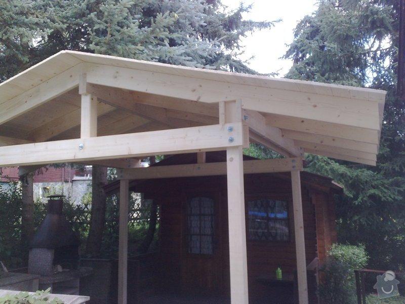 Stavba zastřešené pergoly: 230720111025