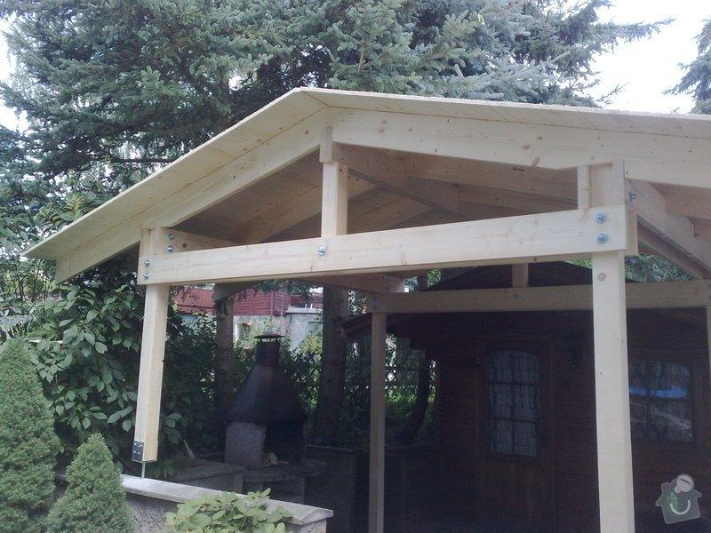 Stavba zastřešené pergoly: 230720111026