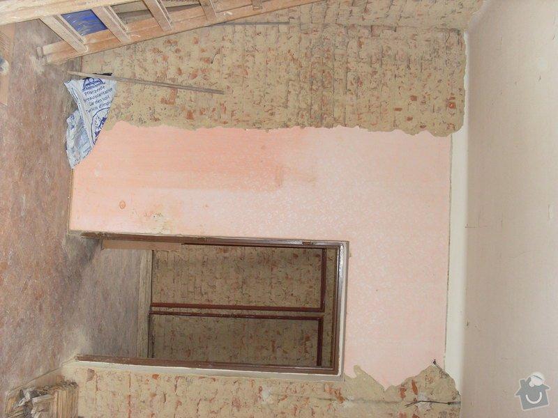 Kompletni zednicke prace, podlahy, obklady, vymena dveri: zed_pro_zborani_kuchyn-obyvak