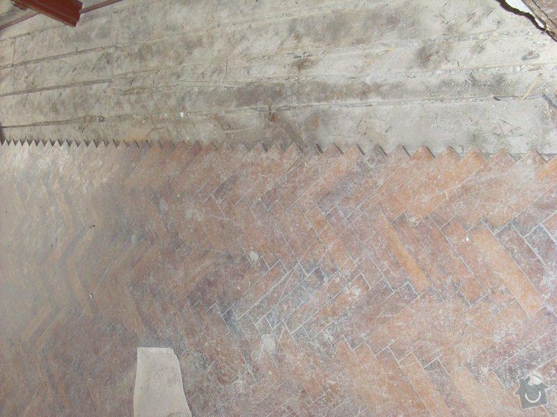 Kompletni zednicke prace, podlahy, obklady, vymena dveri: podlaha_kuchyn