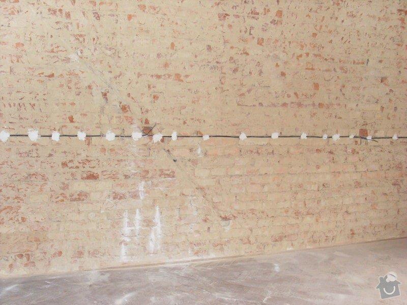 Kompletni zednicke prace, podlahy, obklady, vymena dveri: stav_zdi