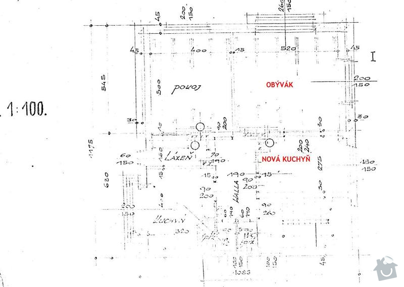 Kompletni zednicke prace, podlahy, obklady, vymena dveri: plan_bytu