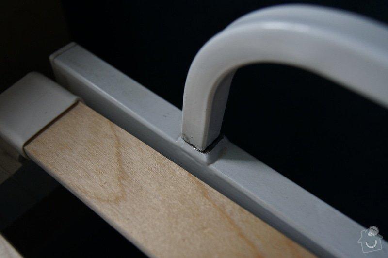 Přivaření ulomené tyče (oprava postele): DSC02775
