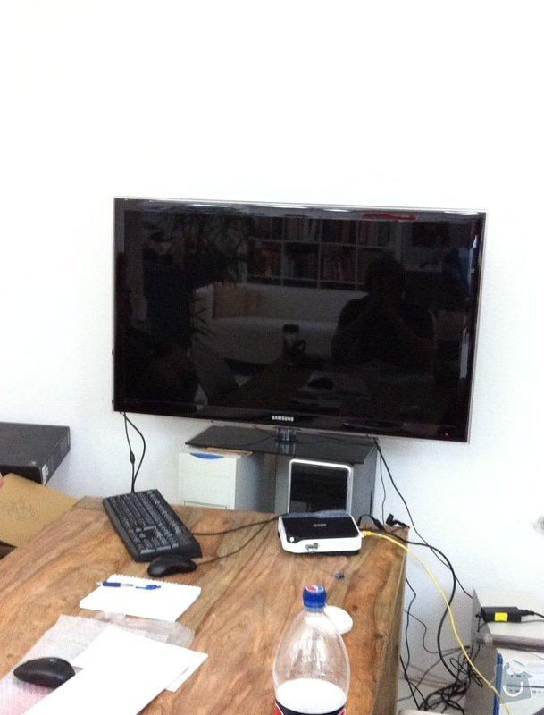 Montáž televize LCD na zeď s náklopným držákem tv.: IMG_0616