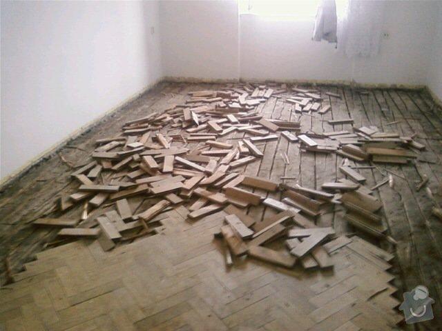 Podklad pro podlahovou krytinu, rekonstrukce: 0801110919-00