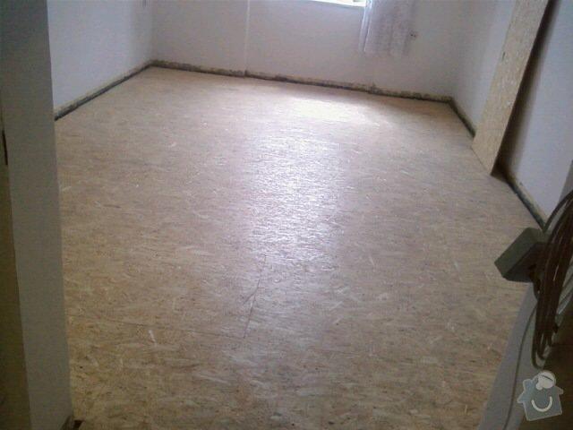 Podklad pro podlahovou krytinu, rekonstrukce: 0801111455-01