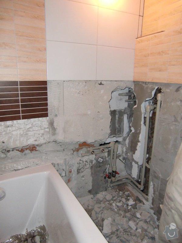 Renovace koupelny: voda_podruhe