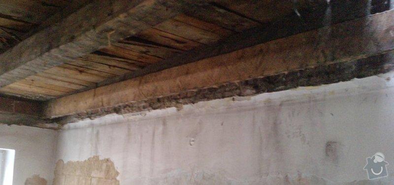 Výměna/vyztužení trámů krovu: 1