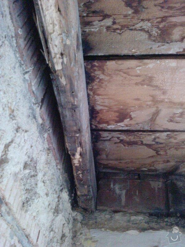 Výměna/vyztužení trámů krovu: 4