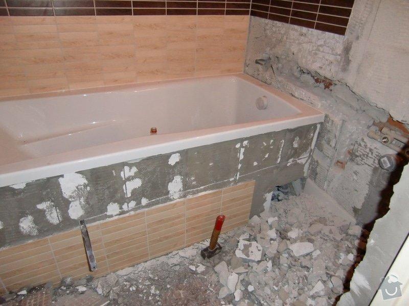 Renovace koupelny: odrezavani_podezdivky-voda_k_pracce