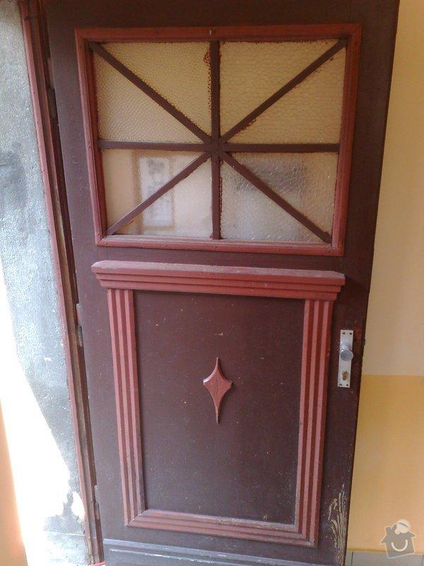 Renovace vchodových dveří: 02082011710