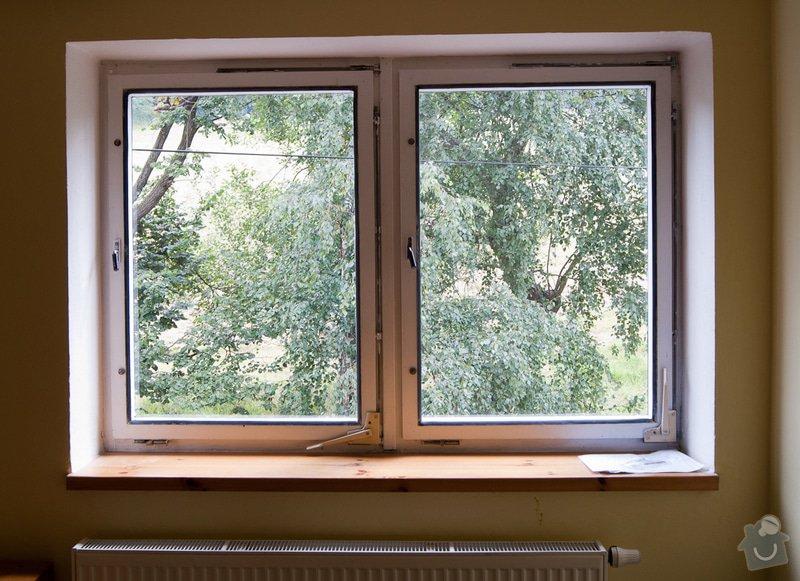 Výměna 7 oken: 1-vnitrni