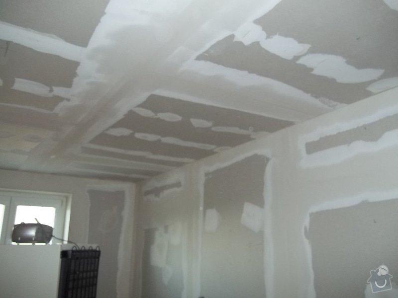 Snížený strop a lepené stěny: 104_0483