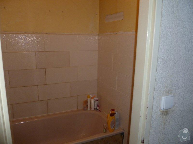 Obklad v koupelně: P1020273