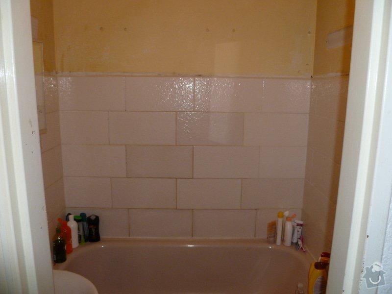 Obklad v koupelně: P1020272