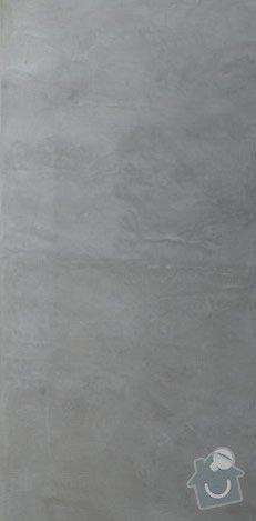 Malířské práce podkrovní byt: seda