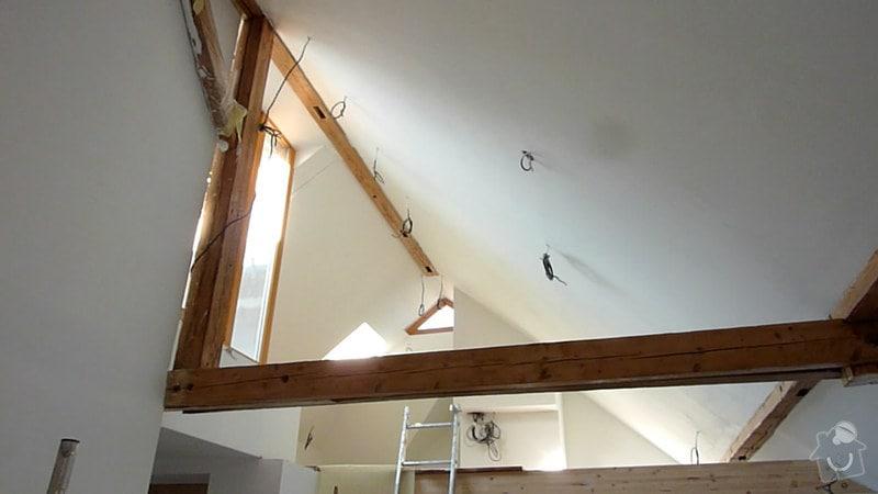 Malířské práce podkrovní byt: 005
