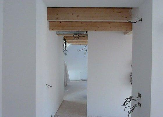 Malířské práce podkrovní byt