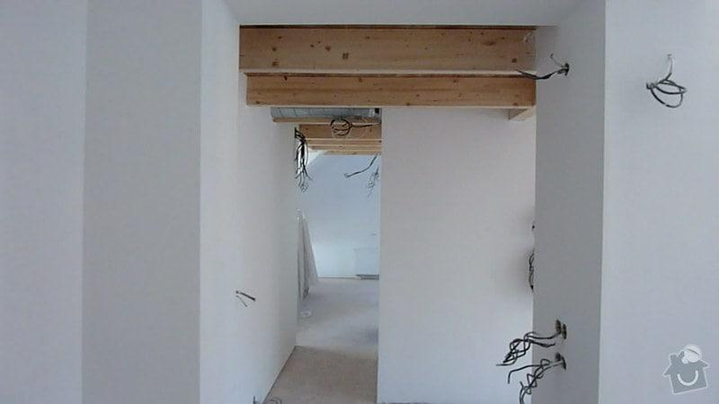 Malířské práce podkrovní byt: 001