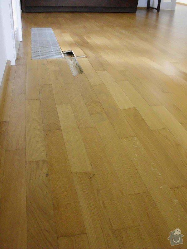 Oprava parketové podlahy: podlaha