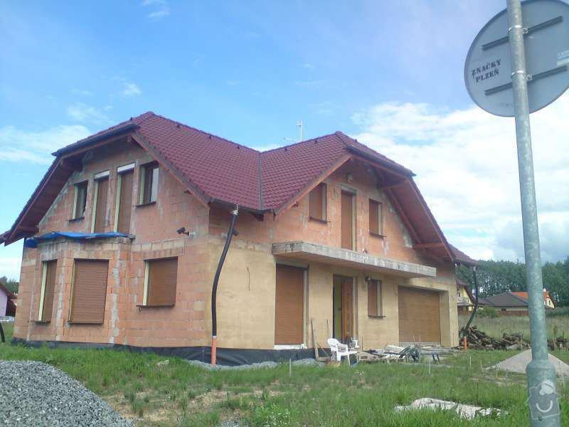 Kompletní elektroinstalace v novostavbě rodinného domu: DSC00510