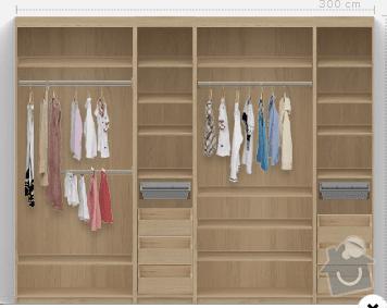 Vestavná skříň: skrin