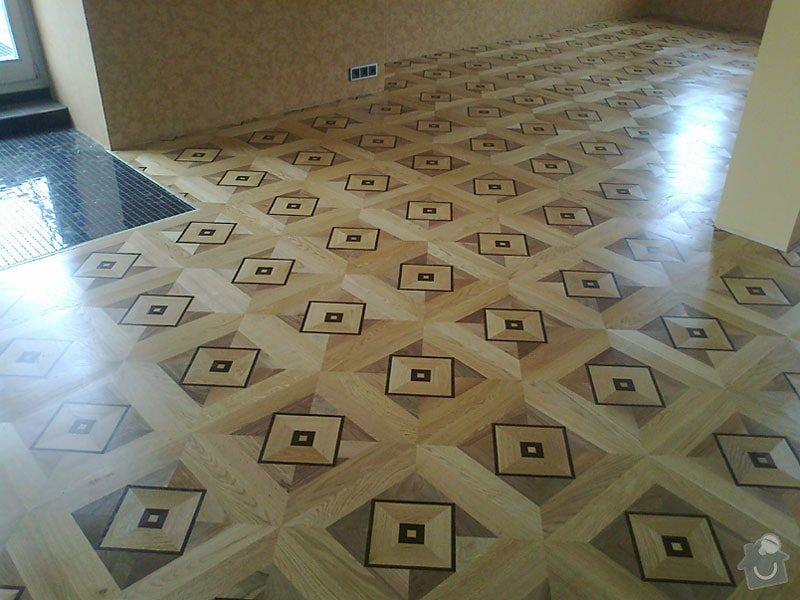 Pokládka nové zámecké podlahy: ctverce1