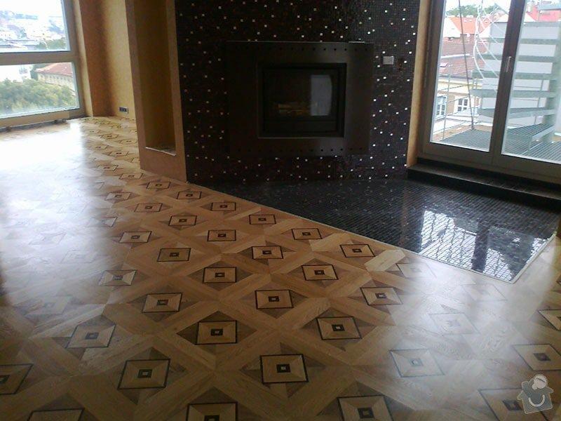 Pokládka nové zámecké podlahy: ctverce2