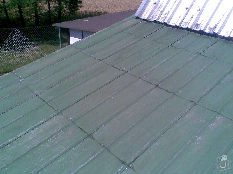 Obnova nátěru střechy: Strecha