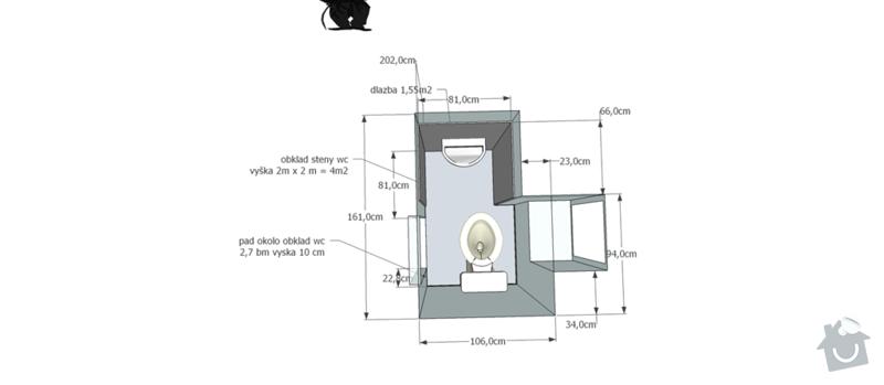 Renovace koupelny a WC: wc_dlazba_studia_02