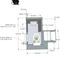 Renovace koupelny a wc wc dlazba studia 02