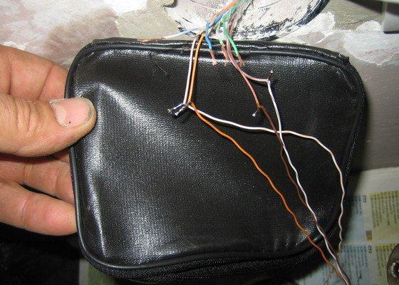 Oprava elektoinstalace po neodbornem zakroku