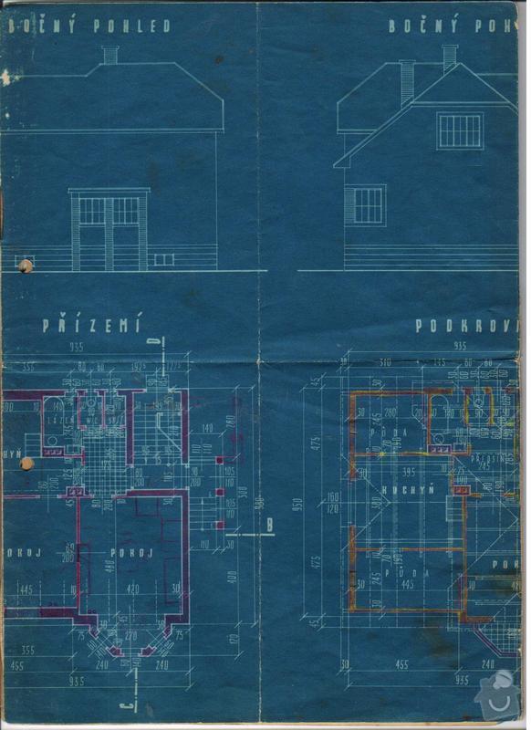 Zednické a instalatérské práce v rodinném domě: Polabec_101_vykres_2