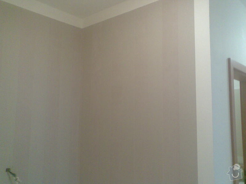 Oprava štuku + malba + tapety: Obraz016