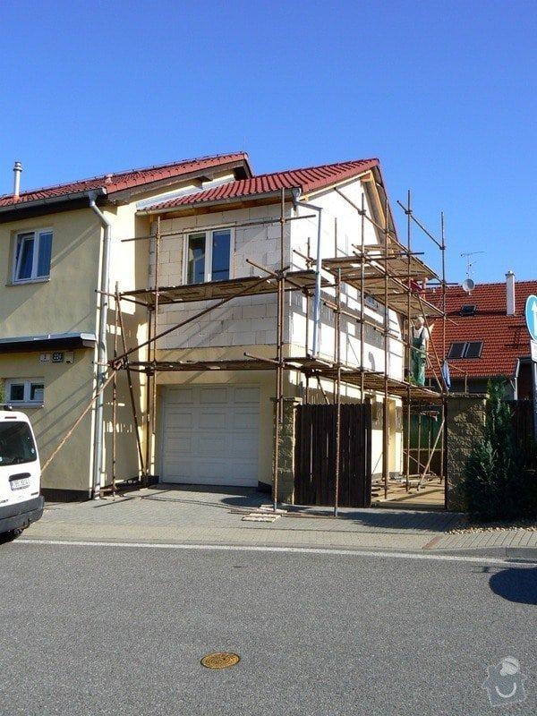 Povrchová úprava fasády, vč. částečného zateplení obvodového pláště: P1030540_R