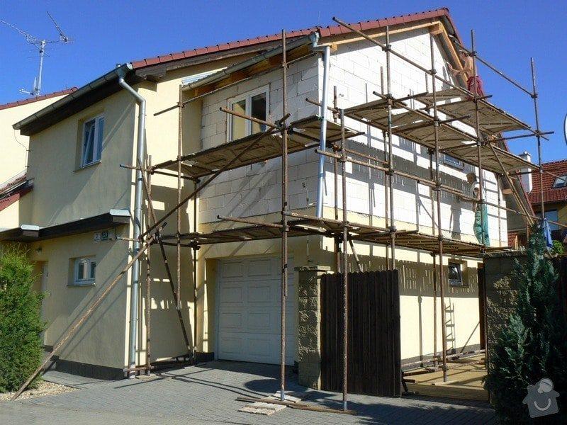Povrchová úprava fasády, vč. částečného zateplení obvodového pláště: P1030543_R