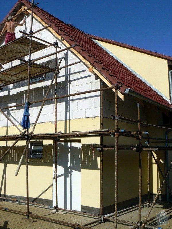 Povrchová úprava fasády, vč. částečného zateplení obvodového pláště: P1030545_R