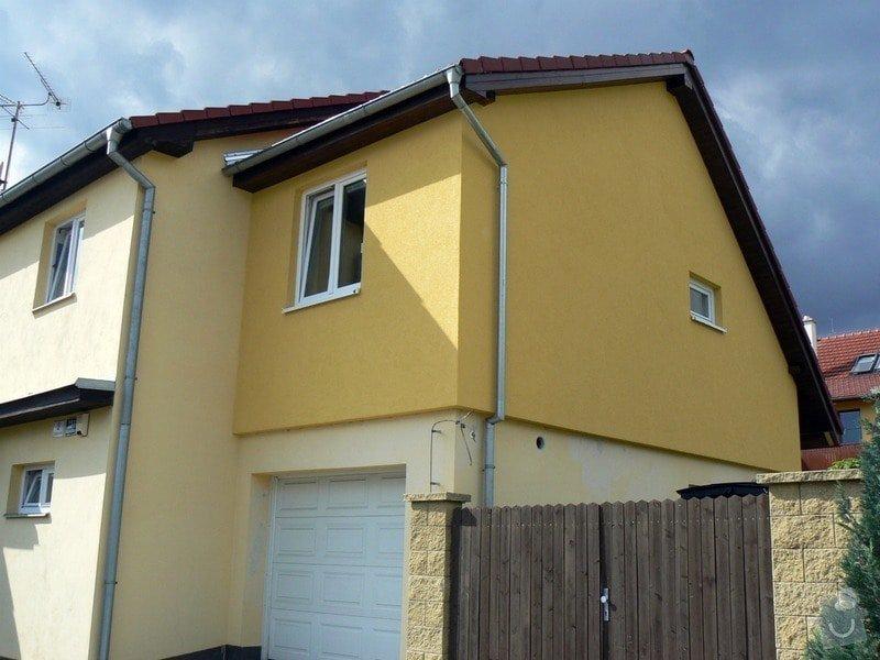 Povrchová úprava fasády, vč. částečného zateplení obvodového pláště: P1030577_R
