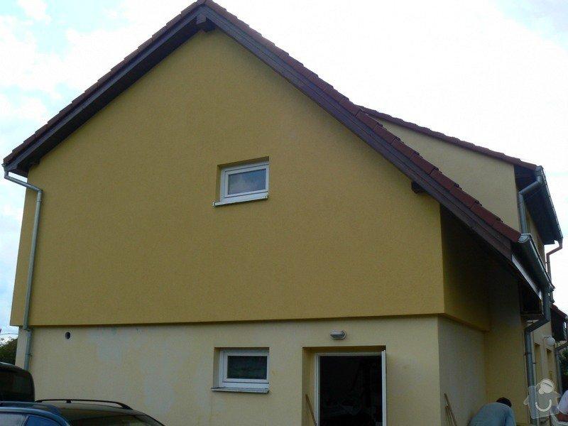 Povrchová úprava fasády, vč. částečného zateplení obvodového pláště: P1030578_R