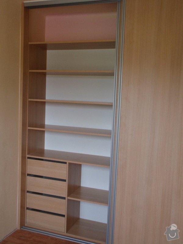 Výroba a montáž vestavěné skříně : P8051619