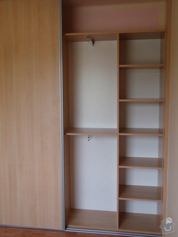 Výroba a montáž vestavěné skříně : P8051620