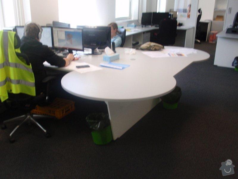 Výroba a montáž kancelářského nábytku + jednacích stolů: P5061537