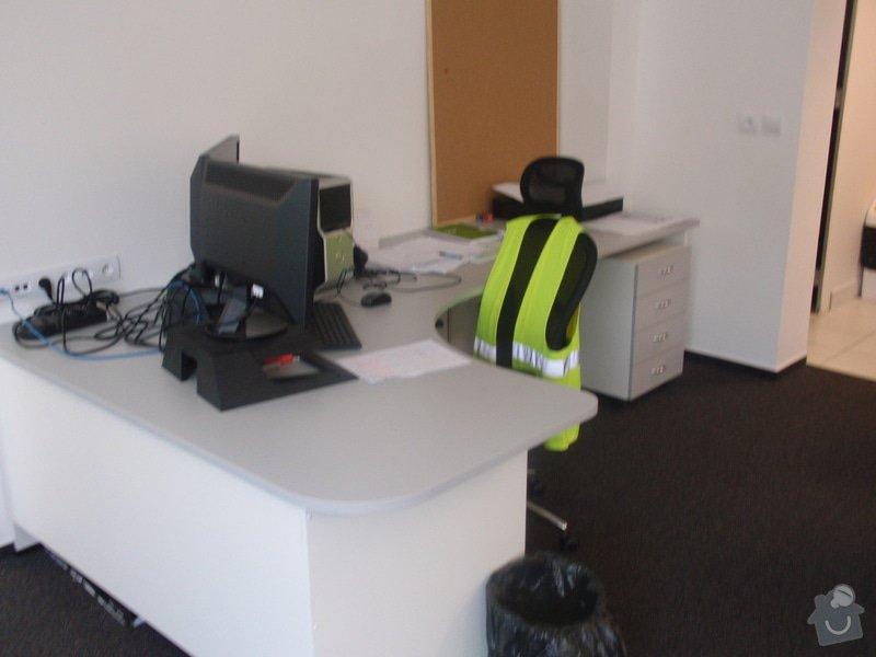 Výroba a montáž kancelářského nábytku + jednacích stolů: P5061539