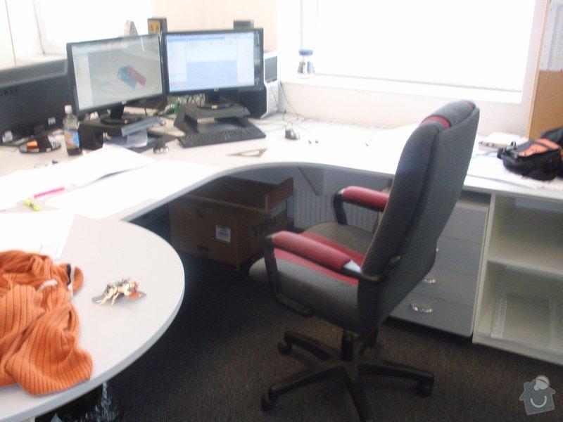 Výroba a montáž kancelářského nábytku + jednacích stolů: P5061541