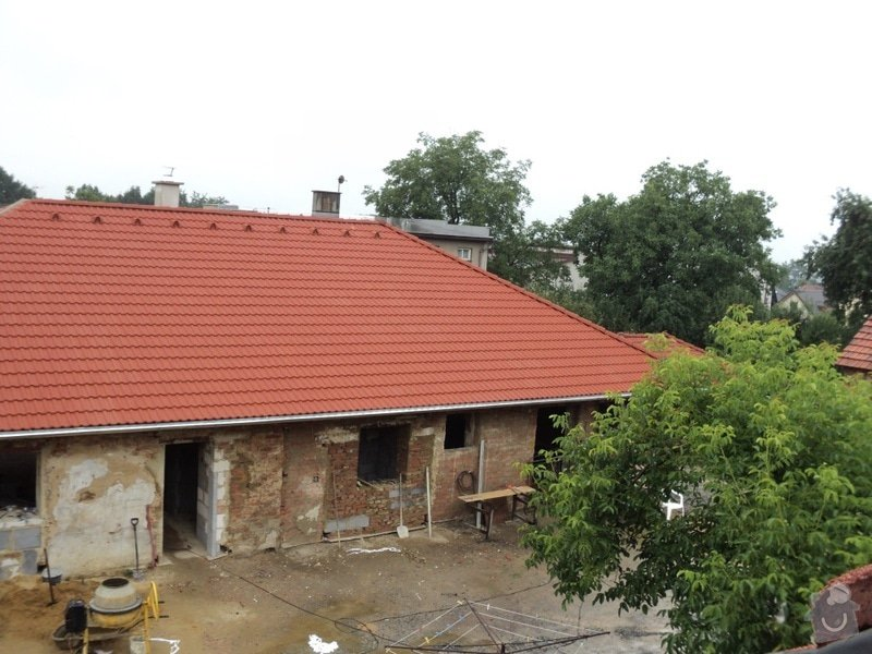 Střecha rodinného domu: rozprac