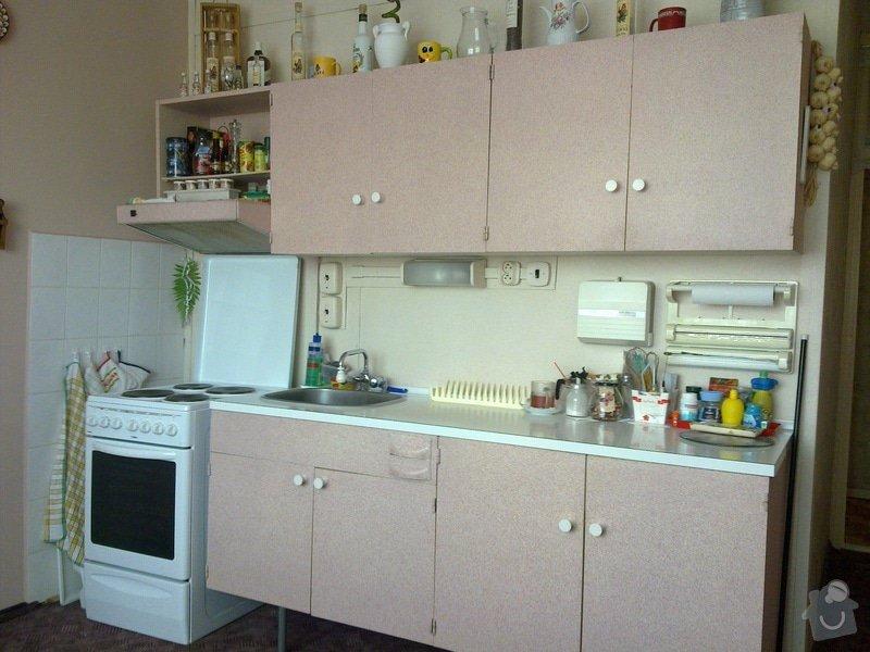 Rekonstrukce bytového jádra, výroba kuchyňské linky: 27032011190