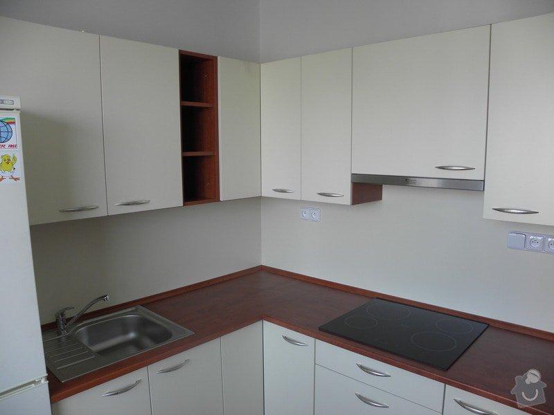 Rekonstrukce bytového jádra, výroba kuchyňské linky: P6287222