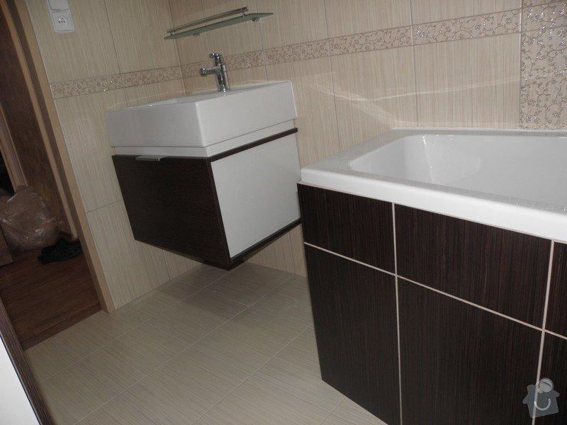 Rekonstrukce bytového jádra, výroba kuchyňské linky: P6287244